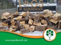 Charity logs, delivery and stacking service