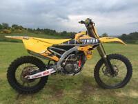 Yamaha yzf250 yz250f yz 250
