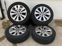 """Golf 16"""" alloys No tyres"""