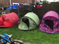 Job lot of tents