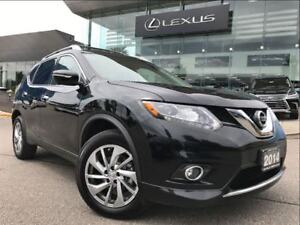 2014 Nissan Rogue SL AWD Navi Backup Cam Leather Sunroof