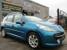 PEUGEOT 207 SW 1.6 HDi Sport 5dr (blue) 2009