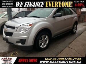 2013 Chevrolet Equinox LS | 99KMS! | BLUETOOTH | VOICE COMMAND