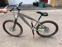 Custom Saracen bike
