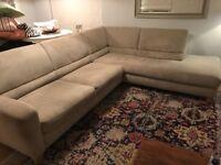 Beautiful Italian corner sofa