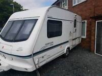 Elddis 2 berth caravan with mover