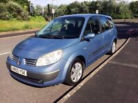Renault Grand Scenic 7 SEATER, 1.6 VVT Dynamique - Cambelt changed, Excellent Runner! MOT May 2018