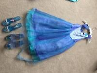 Cinderella dress and shoes