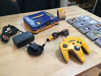 N64 Pokemon Stadium Battle Set + 9 Games