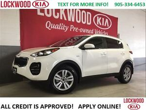 2017 Kia Sportage LX - AWD, BLUETOOTH, HEATED SEATS