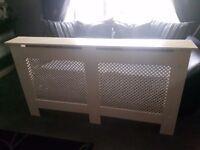 double radiator cover