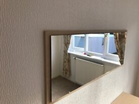 Sideboard and mirror to match