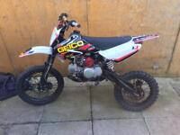 Yx 140 pit bike not crosser