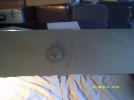 A RECTANGULAR MIRROR , QUITE LARGE , 48 by 15 inches ,In V.G.C. +++++