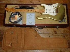 Fender Custom Shop 50th Anniversary Relic Stratocaster 1996 Cunetto Diamond Dealer Edition 41 of 200