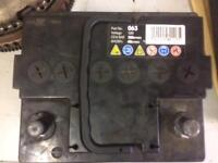 4 x car batteries