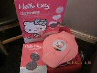 Hello Kitty Cake Pop Maker