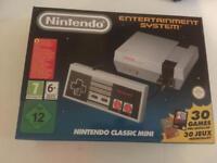 NES Classic mini system with extras