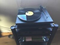 Project 1 Expression turntable, ortofon mb20 cartridge.