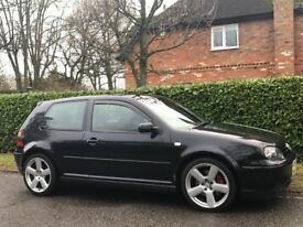 VOLKSWAGEN GOLF GT TDI DIESEL 25TH ANNIVERSARY LTD EDN MANAUL 3DR [52] 2002 BLACK