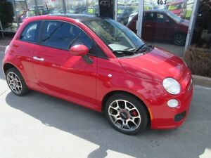 2012 Fiat 500 SPORT WITH LEATHER & MOONROOF