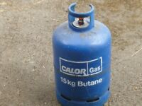 Empty 15kg Calor gas Cylinder