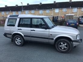 Land Rover dicovery td5 auto 7 seater 4x4