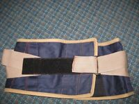 Post Pregnancy waist slimming belt , adjustible upto 34'