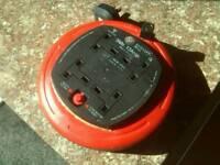 4 plug extension lead