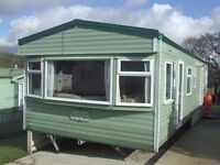 Cosalt Carlton static 2 bedroom holiday home for sale in Forest of Pendle caravan park, Roughlee,