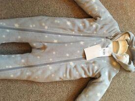 Baby snowsuit 0-3 mths