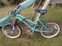 """Childs Bike 20"""" wheels, 13"""" frame (roughly age 7-10)"""