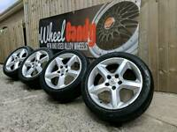 "17"" Vauxhall Astra SXI SRI alloy wheels and tyres 5x110"