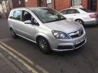 2007 Vauxhall Zafira 1.6 7 seater Bargain
