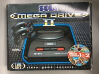 SEGA Mega Drive 2, 2 Controllers, 5 games, all Leads & Original Box