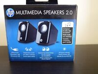 HP Multimedia Speakers 2.0 – Compact and USB Powered