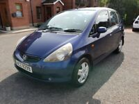 2002 Honda Jazz SE 5-Door Hatchback w/ MOT until June 2019