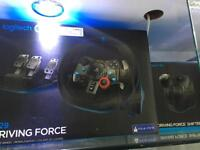 PlayStation 4 PS3 - Logitech G29 driving force steering wheel & shifter