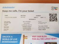 The Script in Dublin - VIP tickets x 2