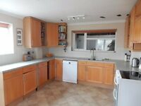 Kitchen wooden cupboard units and drawers