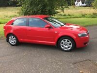 Audi A3 special edition mot & service history