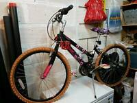 Girls bike 24""