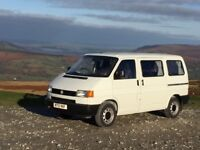 VW T4 Transporter fully converted campervan