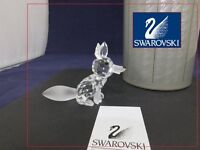 Swarovski Crystal Large Fox Retired 013 837 / 013837 / 7629 070 000 MINT Boxed