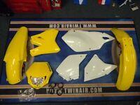 New Acerbis Plastic Kit MMX Headlight DRZ 400 SM E S 00-17 Yellow Plastics