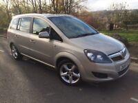 2010 60 Vauxhall Zafira Sri 1.9 cdti 150 bhp 6 speed 7 seater Mpv # FSH # 2 owners # Full mot