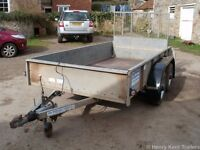 Ifor Williams GD105 General Duty, Plant, Builders Trailer