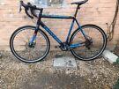 Cannondale caadx disc 2x10 speed tiagra cyclocross gravel adventure road bike