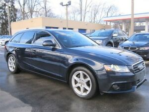 2009 Audi A4 2.0T AVANT WAGON PREMIUM MOONROOF 104KM LEATHER !!