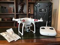 Phantom 3 Standard Drone (with extras)